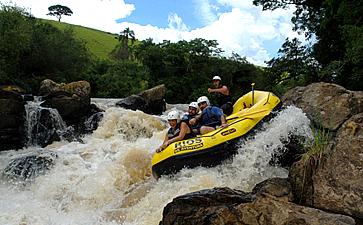 Rafting no Rio de Peixe – Socorro/SP